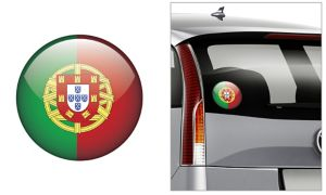 Portuguese Flag Decal