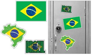 Brazilian Magnets 3pc