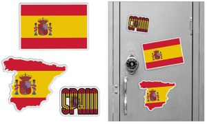 Spanish Magnets 3pc