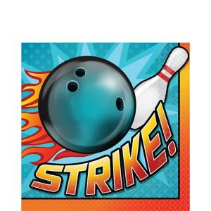 Bowling Lunch Napkins 16ct