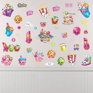Shopkins Wall Decals 39ct