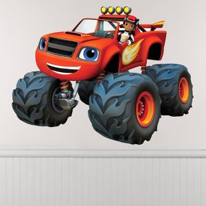 Giant AJ & Blaze Wall Decals 12ct - Blaze and the Monster Machines