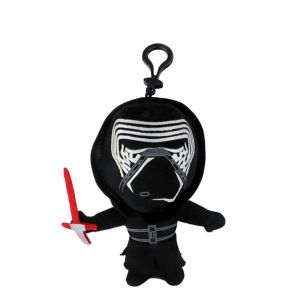 Clip-On Kylo Ren Plush - Star Wars 7 The Force Awakens