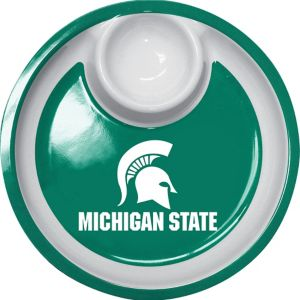 Michigan State Spartans Chip & Dip Tray