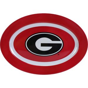 Georgia Bulldogs Oval Platter