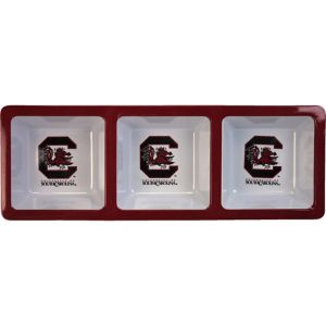 South Carolina Gamecocks Divided Snack Tray
