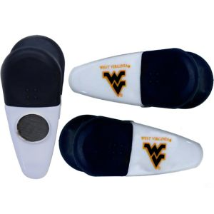 West Virginia Mountaineers Magnetic Bag Clips 3ct