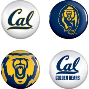 Cal Bears Buttons 4ct
