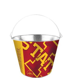 Iowa State Cyclones Galvanized Bucket