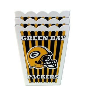 Green Bay Packers Popcorn Boxes 3ct