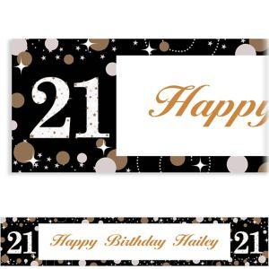 Custom Sparkling Celebration 21 Banner