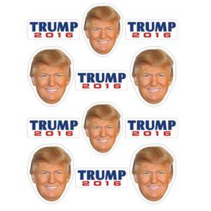 Donald Trump Stickers 2 Sheets