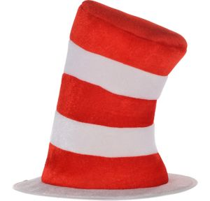Child Felt Cat in the Hat Top Hat - Dr. Seuss