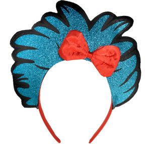 Glitter Thing 1 & Thing 2 Headband - Dr. Seuss