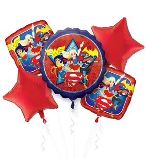 DC Super Hero Girls Balloon Bouquet 5pc