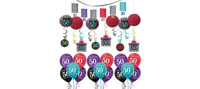 Celebrate 50th Birthday Balloon Kit