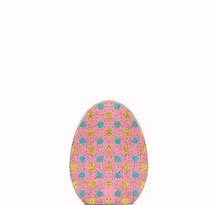 Glitter Polka Dot Standing Egg