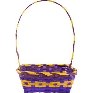 Medium Purple Square Easter Basket