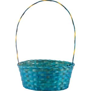 Large Blue Easter Basket