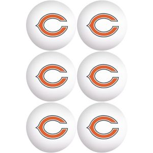 Chicago Bears Pong Balls 6ct