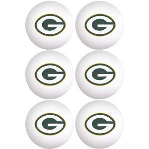 Green Bay Packers Pong Balls 6ct