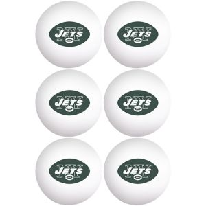 New York Jets Pong Balls 6ct