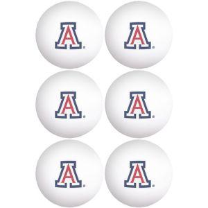Arizona Wildcats Pong Balls 6ct