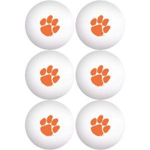 Clemson Tigers Pong Balls 6ct