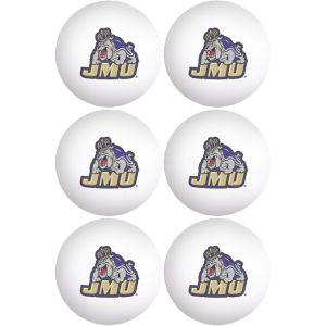 James Madison University Dukes Pong Balls 6ct
