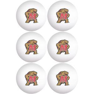 Maryland Terrapins Pong Balls 6ct