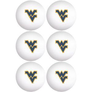 West Virginia Mountaineers Pong Balls 6ct
