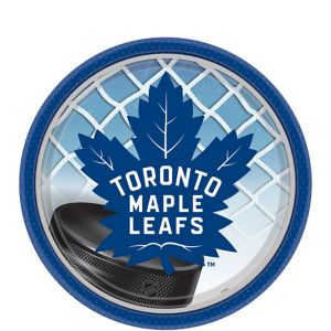 Toronto Maple Leafs Dessert Plates 8ct