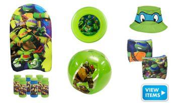 Teenage Mutant Ninja Turlte Super Summer Toys Favor Kit