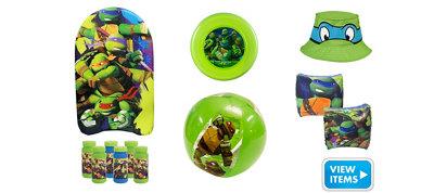 Teenage Mutant Ninja Turtle Super Summer Toys Kit