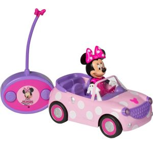 Minnie Mouse Roadster Radio Control Car