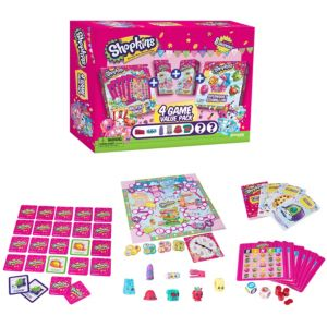 Shopkins Four-Game Value Pack 184pc
