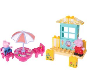 Peppa Pig Ice Cream Shop Playset 24pc