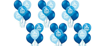 Welcome Baby Boy Balloon Kit 30ct