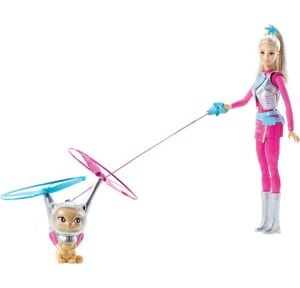 Star Light Adventure Barbie Doll with Space Cat
