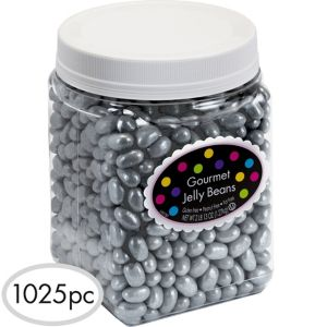 Silver Jelly Beans 1025pc