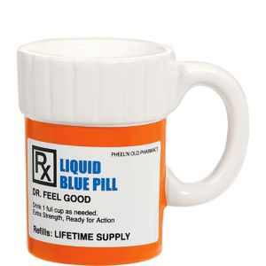 Pill Bottle Coffee Mug