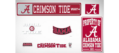 Alabama Crimson Tide Dorm Room Kit