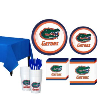 Florida Gators Basic Party Kit for 16 Guests