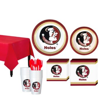 Florida State Seminoles Basic Party Kit for 16 Guests