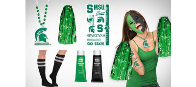 Michigan State Spartans Fan Gear Kit