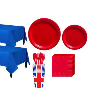 Great Britain Tableware Kit for 16 Guests