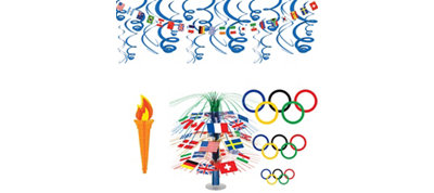 World Summer Games Décor Kit