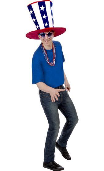 Adult Patriotic Hat Accessory Kit