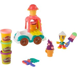 Play-Doh Town Ice Cream Truck Playset 12pc