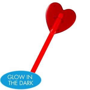 Red Heart Glow Wand